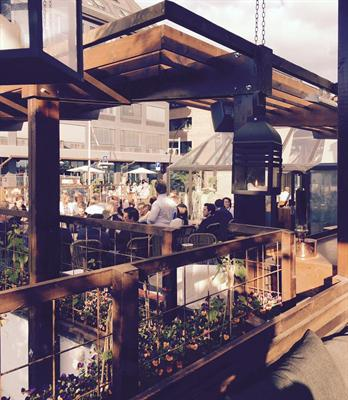 Victoriahaven restaurant Hamar - koselig utedel